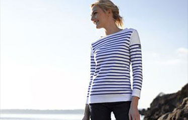 armorlux striped breton shirts